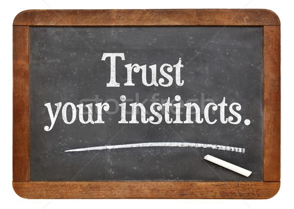 ストックフォト: 信頼 · アドバイス · やる気を起こさせる · リマインダー · ヴィンテージ · アイデア
