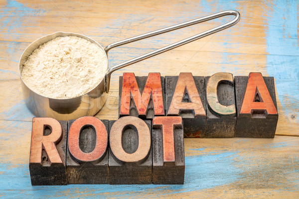 scoop of maca root powder  Stock photo © PixelsAway