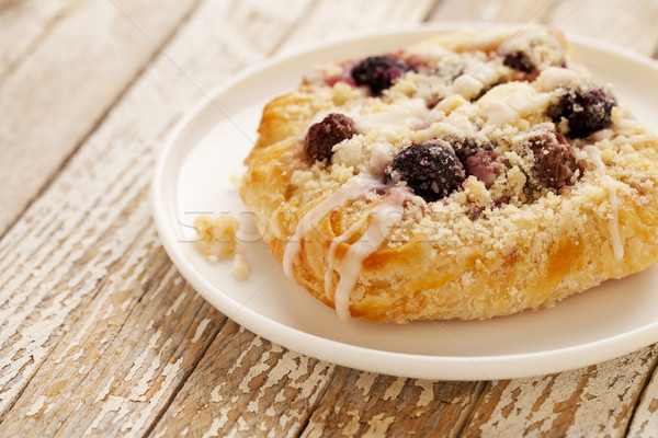 cherry cheese danish pastry Stock photo © PixelsAway