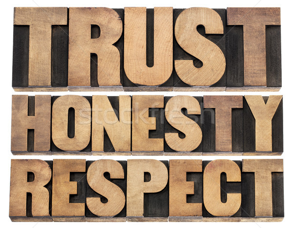 trust, honesty, respect Stock photo © PixelsAway