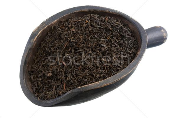 Oolong çay tok yaprak gevşek kahvaltı Stok fotoğraf © PixelsAway