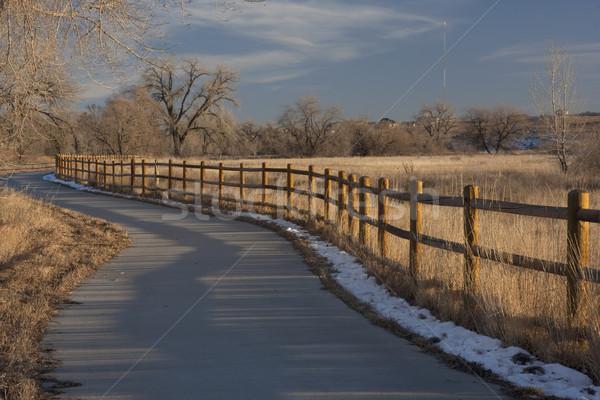 bike trail in Colorado near Greeley Stock photo © PixelsAway