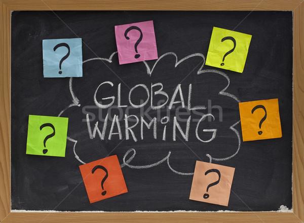 global warming question Stock photo © PixelsAway