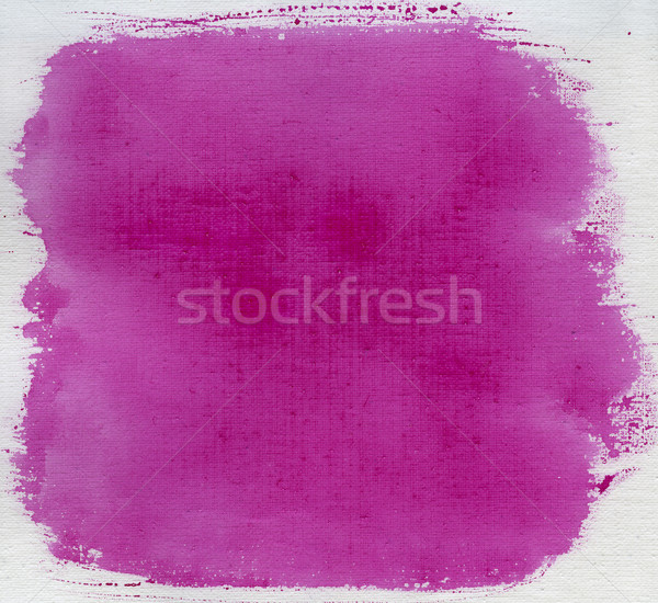 rose red watercolor abstract with canvas texture Stock photo © PixelsAway