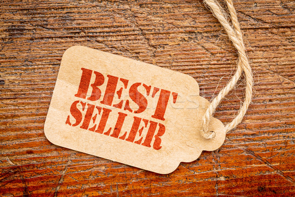 bestseller sign  on a price tag Stock photo © PixelsAway