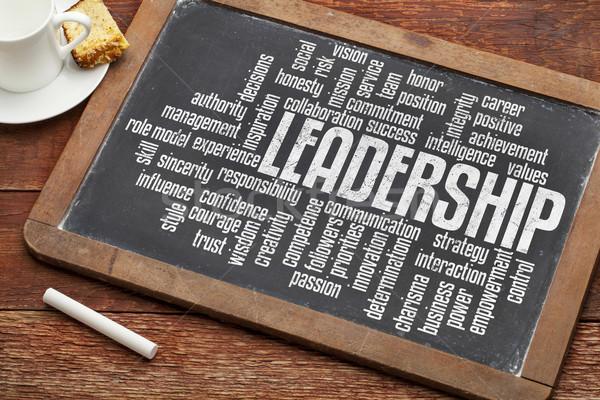 leadership word cloud  Stock photo © PixelsAway