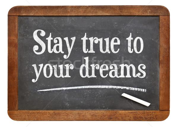 пребывание Мечты Vintage мечта Сток-фото © PixelsAway