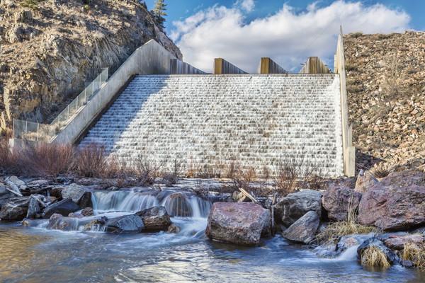 горные водохранилище север вилка реке Сток-фото © PixelsAway