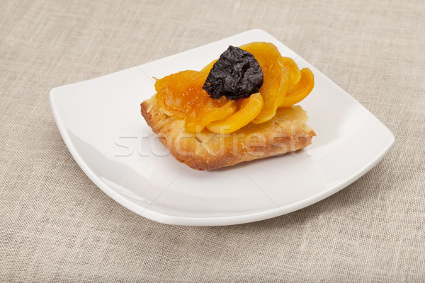 apricot and prune tart Stock photo © PixelsAway