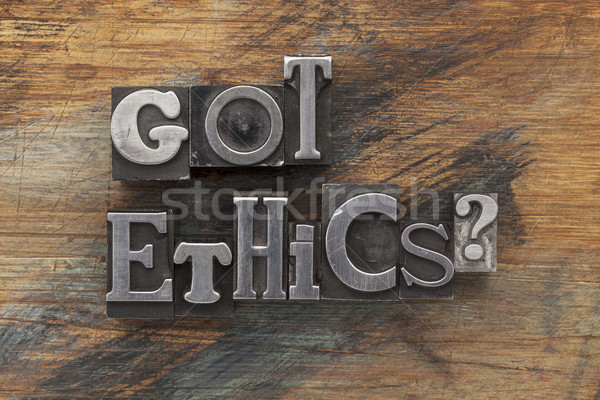 Got ethics question Stock photo © PixelsAway