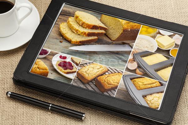 Glutenvrij brood kokosnoot meel foto's Stockfoto © PixelsAway