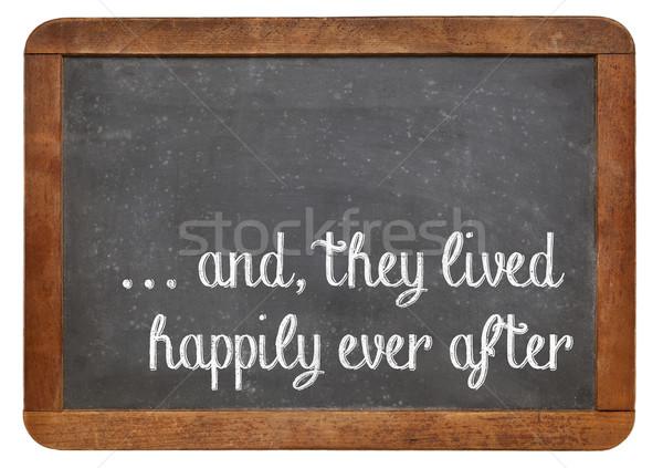 fairytale happy end phrase  Stock photo © PixelsAway