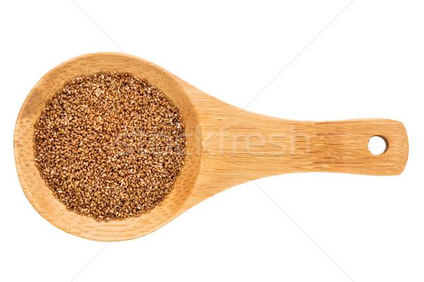 зерна небольшой изолированный белый Сток-фото © PixelsAway