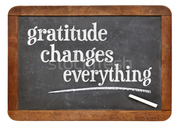 Gratitude changes everything Stock photo © PixelsAway