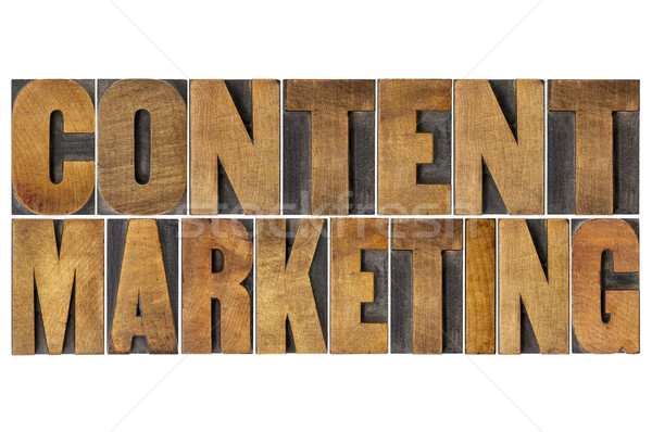 content marketing word abstract Stock photo © PixelsAway