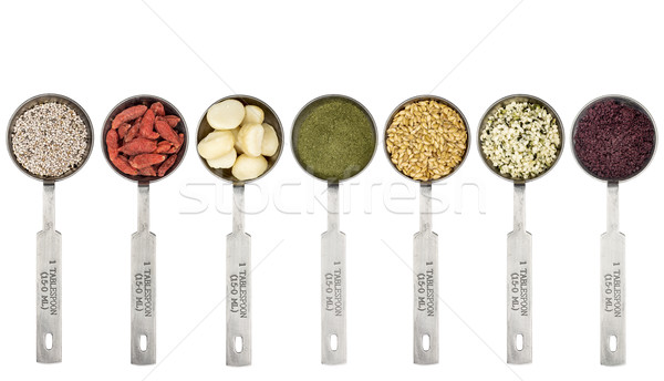 tablespoons of superfood set Stock photo © PixelsAway