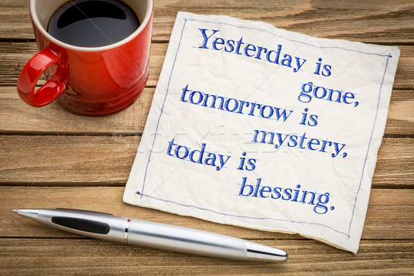Today is blessing Stock photo © PixelsAway