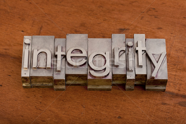 integrity or ethics concept Stock photo © PixelsAway