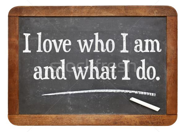 positive affirmation words Stock photo © PixelsAway