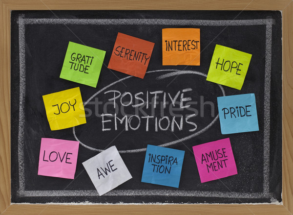 ten positive emotions Stock photo © PixelsAway