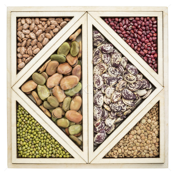 beans and lentils abstract Stock photo © PixelsAway