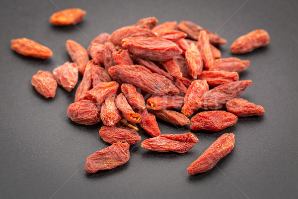 goji berries pile Stock photo © PixelsAway