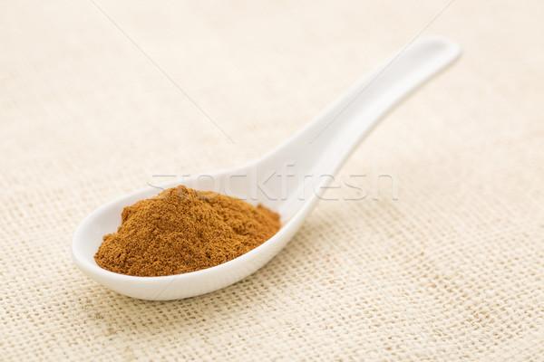cinnamon (cassia) bark powder Stock photo © PixelsAway