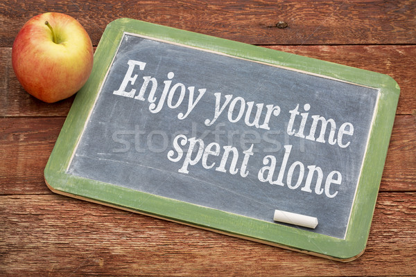 Enjoy your time spent alone Stock photo © PixelsAway
