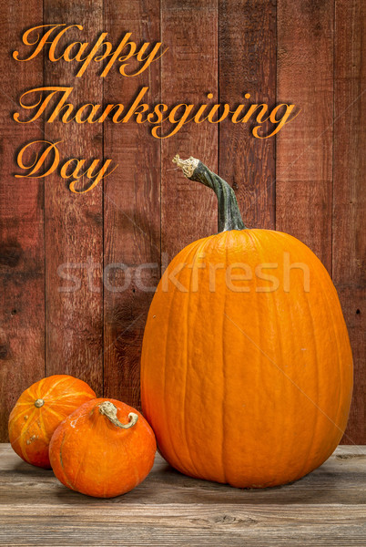 Happy Thanksgiving Day Stock photo © PixelsAway