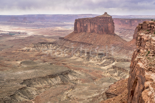 cloudy day in Canyonlands Stock photo © PixelsAway