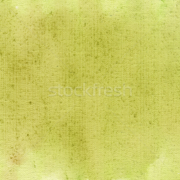 Lichtgroen aquarel abstract doek textuur Geel Stockfoto © PixelsAway