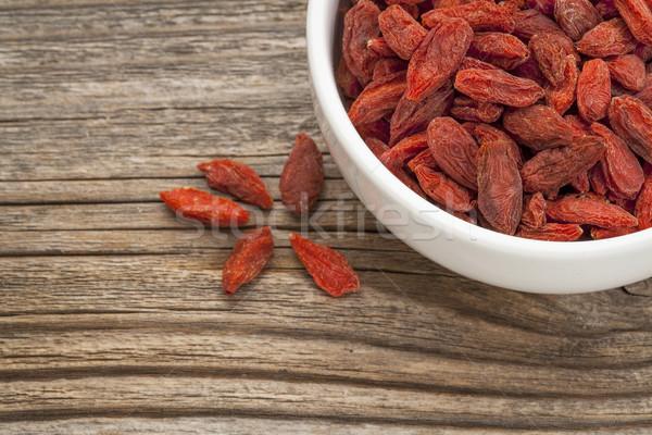 goji berries  Stock photo © PixelsAway