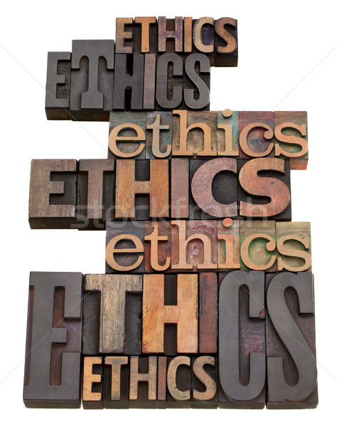 ethics word collage Stock photo © PixelsAway