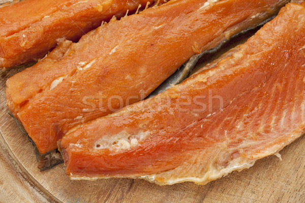 smoked Yukon salmon Stock photo © PixelsAway