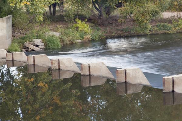 river diversion dam Stock photo © PixelsAway