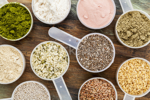 scoops of superfood Stock photo © PixelsAway