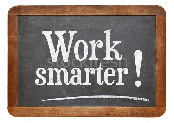 work smarter advice Stock photo © PixelsAway