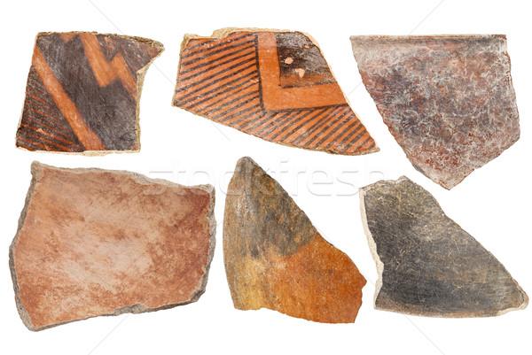 Indian aardewerk oude inlander zes Stockfoto © PixelsAway