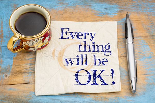 Everything will be OK! Stock photo © PixelsAway