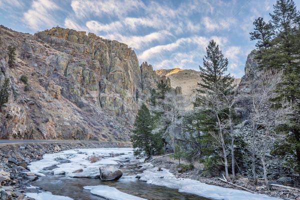 Cache la Poudre River  Stock photo © PixelsAway