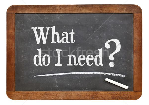 何 必要 質問 ヴィンテージ 目標 ストックフォト © PixelsAway