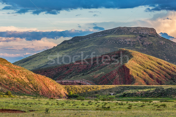 foothills of Rocky Mountains in Colorado Stock photo © PixelsAway