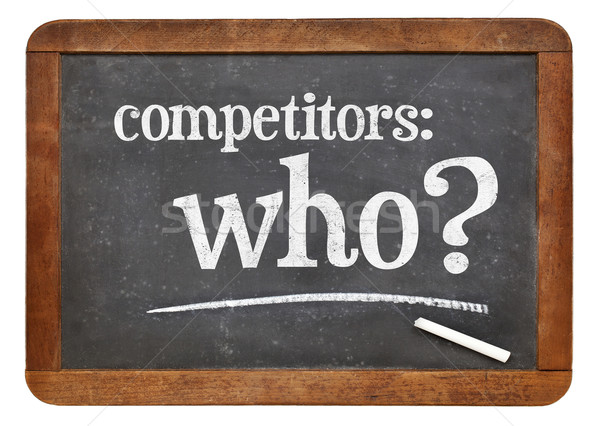 Who is your competitor concept Stock photo © PixelsAway