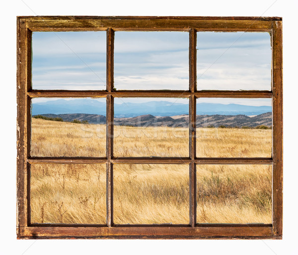 prairie at Colorado foothills abstract Stock photo © PixelsAway