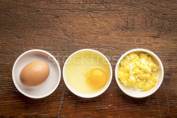 scrambled egg abstract Stock photo © PixelsAway