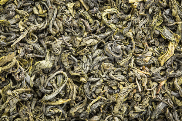 Textúra kínai zöld tea makró kép bő Stock fotó © PixelsAway