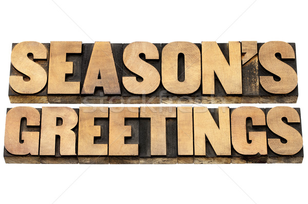 season greetings Stock photo © PixelsAway