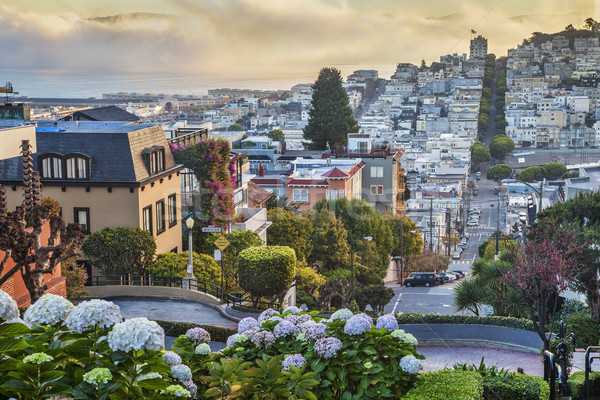 early morning in San Francisco Stock photo © PixelsAway