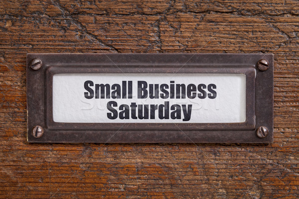 Small Business Saturday Stock photo © PixelsAway