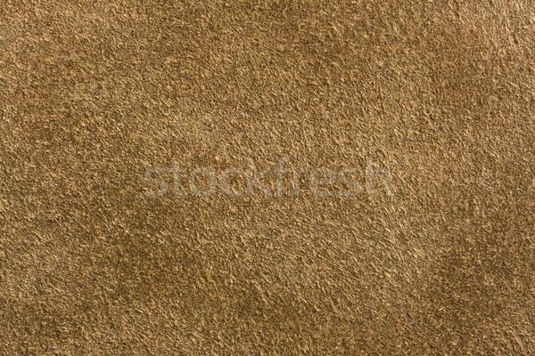 brown chamois leather Stock photo © PixelsAway